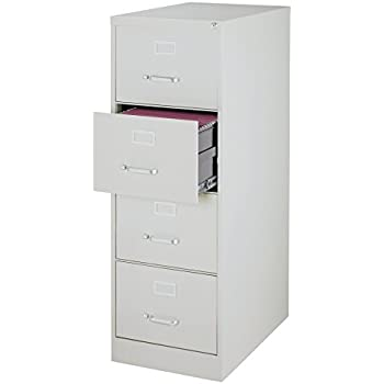Amazon.com: Office Dimensions Commercial 4 Drawer Letter Width ...