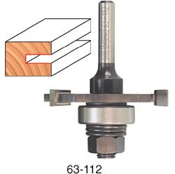 "Freud 63-108 Slot Cutter Router Bit Set, 2"" X 1/8"""