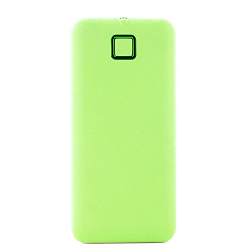 YOUNGFLY Fashion 20000mah External Power Bank Backup Dual USB Battery Charger For Cell Phone, Green