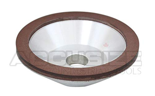 Accusize Industrial Tools Diamond Grinding Wheel 320 for Universal Cutter Grinder My-30A, 2301-1007-1