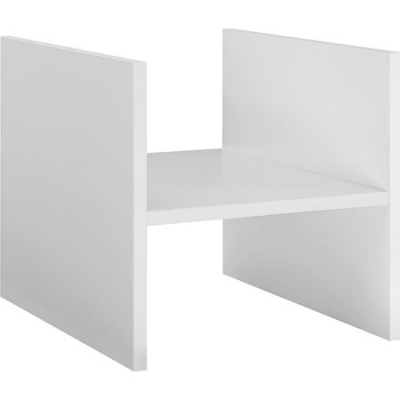 Better Homes and Gardens White H Cube Storage Shelf, set of 2 (White Bookcase Modular)