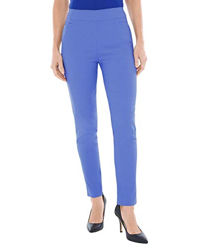 Chico's Women's So Slimming Brigitte Slim Ankle Pants Size 8 M (1 REG) Blue