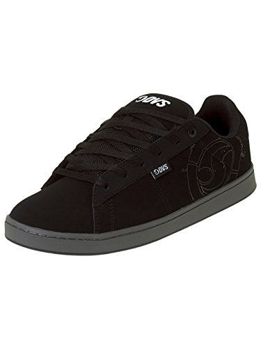 Zapatos DVS Jason Anderson Revival 2 - Signature Series Negro Leather Nubuck