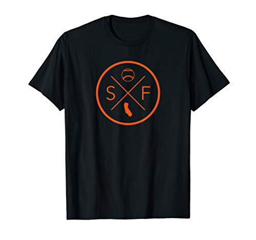 San Francisco Baseball California State Map Outline SF - Giants Francisco San Shirt