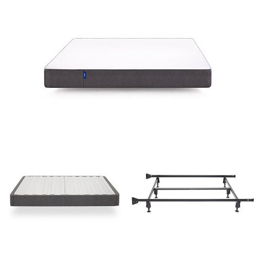 Casper Sleep Set - Mattress, Foundation Box Spring and Frame - California King by Casper Sleep