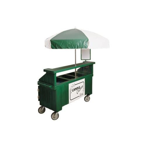 Cambro Camcruiser 2P+1Well-Grgry (CVC72191) Category: Vending Carts