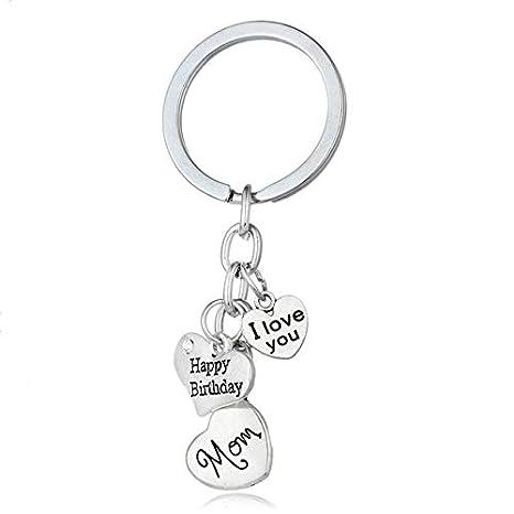 Amazon.com: Rarido Llavero con diseño de corazón con texto ...