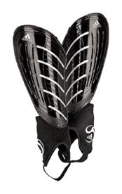 UPC 884417756466, adidas Predator Club Shinguard (Black/Metallic Silver, Large)