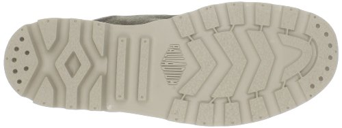 Palladium PAMPA HI~BLACK/BLACK~M 92352-060-M - Botas de lona para mujer, color gris, talla 39,5 Gris (Grau/BOUE)