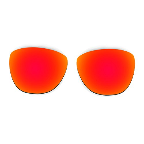 Hkuco Plus Mens Replacement Lenses For Oakley Frogskins Sunglasses Red/Black/Emerald Green Polarized