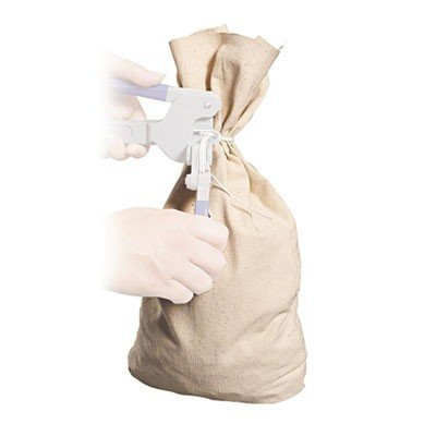 MMF Industries Cloth Silver Bag, 19in.H x 12in.W