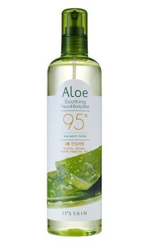 [It's Skin] ALOE SOOTHING FACE&BODY MIST 400 - Aloe Body Mist