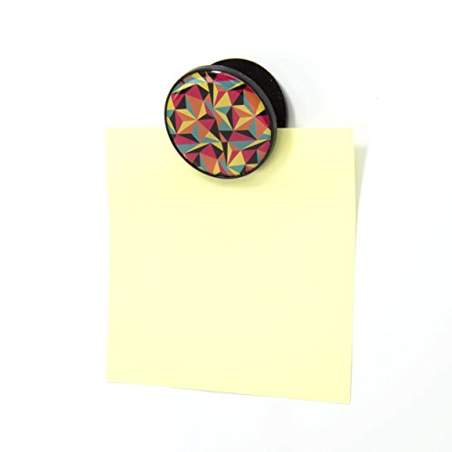 U-Brands-Magnets-and-Magnetic-Clips-1-14-Inch-Diameter-Pop-Spring-Fashion-Colors-6-Count