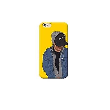 Funda Carcasa Cover TPU para Todos los Modelos de Apple iPhone x 8 7 6 6 Plus 5 5s 4 4s 5c si - AR13 Hombre con Sombrero, Nike, El iPhone 6