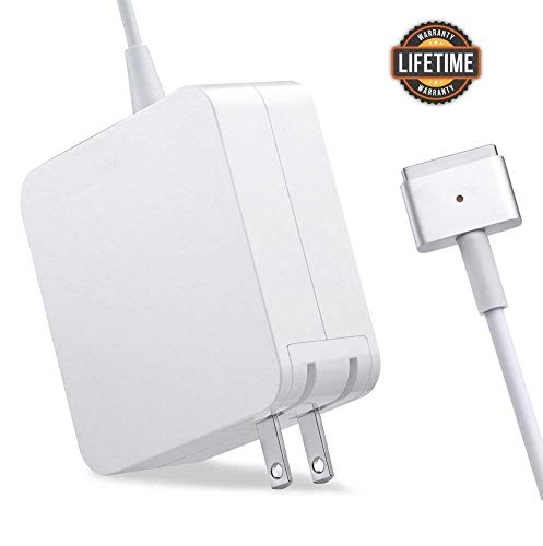 MacBook Pro Charger, 60W T-Tip Magsafe 2 Replacement, Power Adapter Compatible with Mac Book Charger/Mac Book air( After Late 2012)