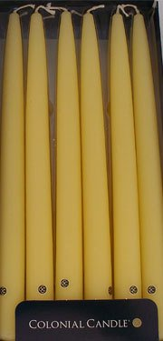 Colonial Candle - Limoncello Yellow 12 Inch Handipt Tapers