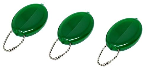 3 GREEN RUBBER SQUEEZE COIN ()