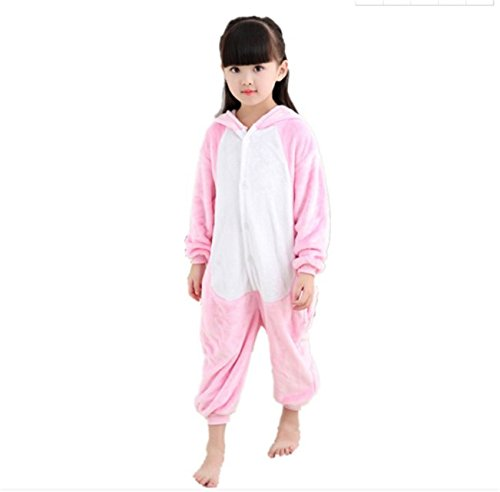 Halloween Cosplay Christmas Pig Animal Cartoon Costume Pajamas Teenagers Girls Boys Onesies Lounge Wear 105# Pink]()