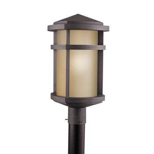 Kichler 9967AZ One Light Outdoor Post (1 Outdoor Post)