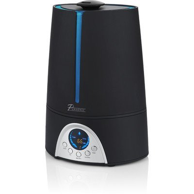 Pursonic HM310 Ultrasonic Cool Mist Humidifier With Built in ionizer & LED Screen with digital Humidity Display