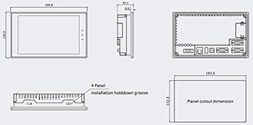 Kinco Automation MT4414TE HMI Touch Screen, 7