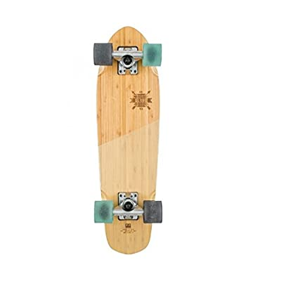 "Globe HG Blazer Skateboard, Bamboo/Almond, 26"" : Sports & Outdoors"