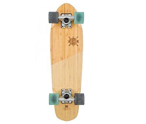 - Globe HG Blazer Skateboard, Bamboo/Almond, 26