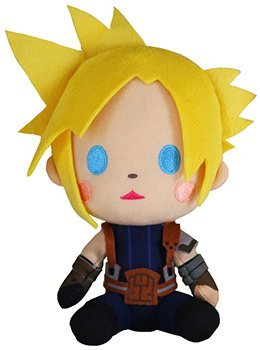 Taito Final Fantasy All Stars Deformed Plush Doll Vol 1 Cloud Strife By Taito