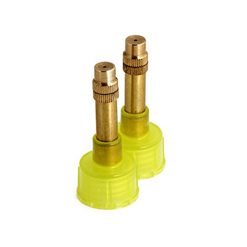 COREGEAR 2 Nozzles - Fits Classic, Classic JR, All Ultra Cool and Ultra Cool JR Misters (Lime)