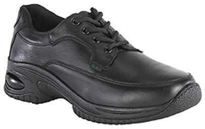 Florsheim Womens Black Leather Work Shoes Postal Classic Oxfords 7.5 M