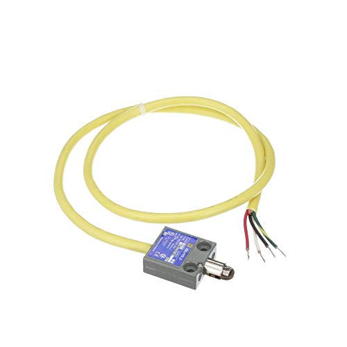 Limit Switch; SPDT; 6A 120VAC; Roller plunger; 3 foot yellow cable; UL CSA