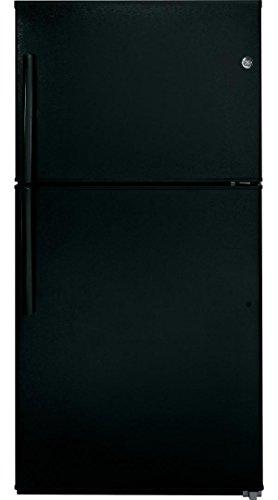 Ge Black Top Freezer Refrigerator - 2