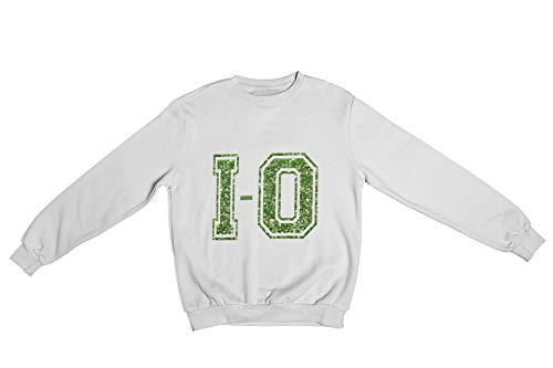 I-O Crewneck Sweatshirt Green Unisex (Small)