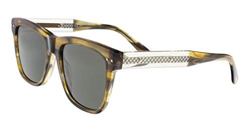 Sunglasses Bottega Veneta BV 0098 S- 003 003 AVANA / GREY / - Sunglasses Veneta Bottega