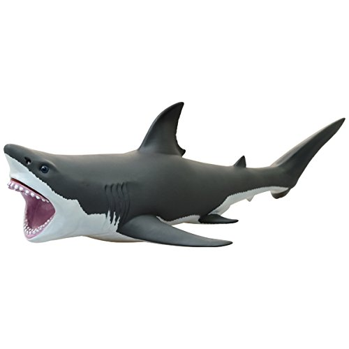 Great white shark-plastic model