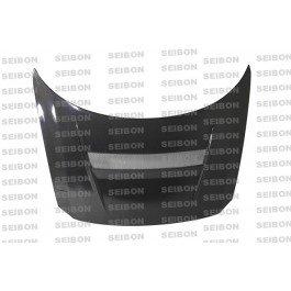 (Seibon HD1112HDCZ-VSII Carbon Fiber Hood VSII Style)