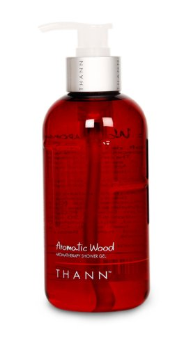 (THANN Aromatic Wood Aromatherapy Shower Gel)