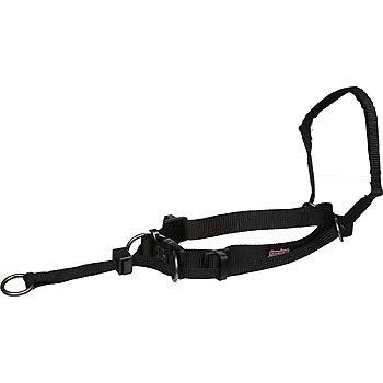 Yuppie Puppy Non Pull Head Halter, XL - Black