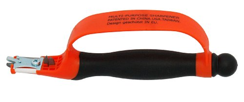 Zenport KS06 6-in-1 Multi-Sharpener for Pruners/Scissors and Knives, 8-Inches Long