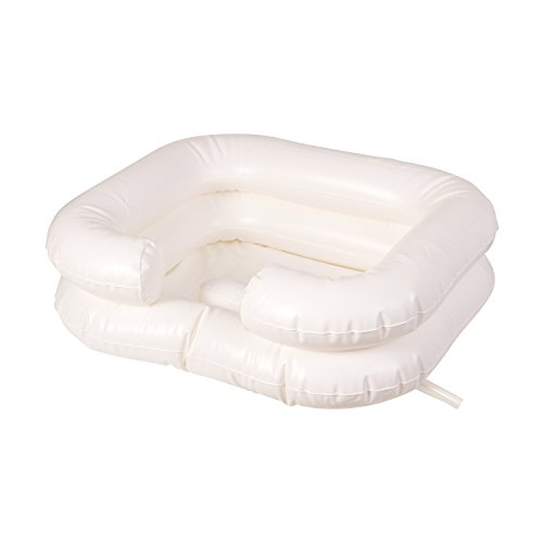DMI Portable Shampoo Basin, Deluxe Inflatable Shampoo Basin, (Bed Shampoo)