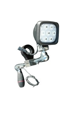 0626PUGLIIG Larson Electronics 0626PUGLGVA Bar Clamp Mount System for Post Spotlights 1.375-1//4
