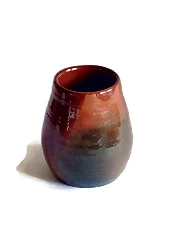 (Ceramic Vase, Pottery Flower Pot, Brown Decorative Vase for Plants)