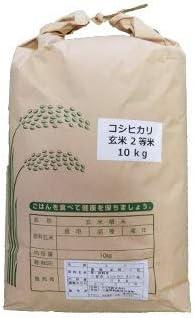【 令和元年産 】【送料無料】三重県産 コシヒカリ 玄米 お米 二等米 10kg