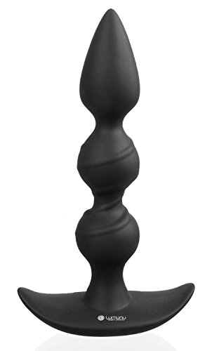 Deluxe Analplug (Ø 30 mm) Durchtreiber, Silikon Prostata Butt Plug
