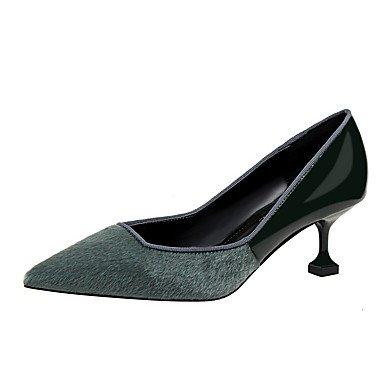 Fall Stiletto 5 Comfort Women'sHeels Spring Heel Suede US6 7 CN37 EU37 5 Dress UK4 5 w7X5qX