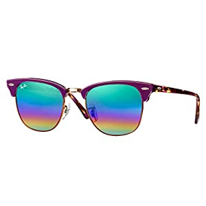 Ray-Ban RB3016 Clubmaster Sunglasses Bundle for Men and Women with Deluxe Accessories