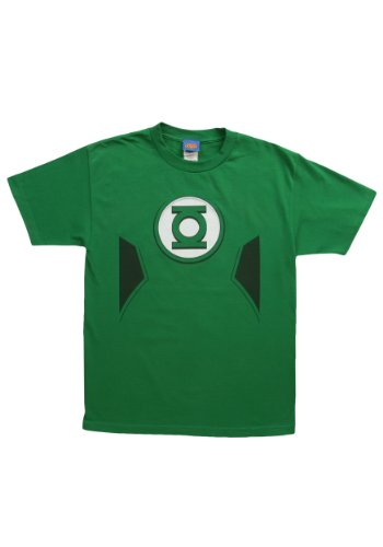 Green Lantern Costume -- DC Comics - The New 52 Adult T-Shirt, Large -