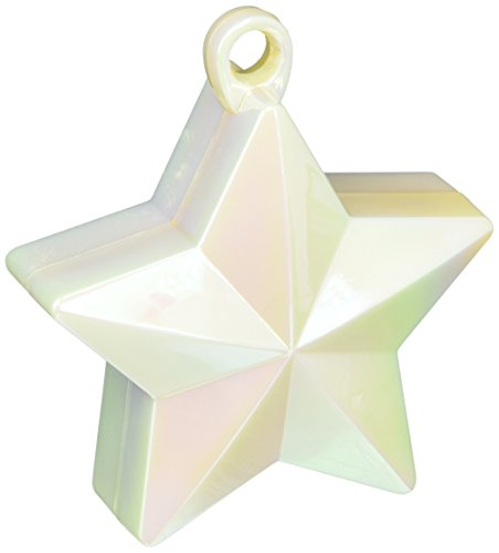 Star Foil Balloon Weight | Iridescent | Party Decor | 12 Ct.