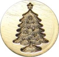 Wax Seal Christmas Tree (Christmas Tree 3/4