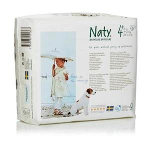 Nature Babycare Naty Eco Nappies? Size 4+ Junior 9-20kg 20-44lb 30pcs